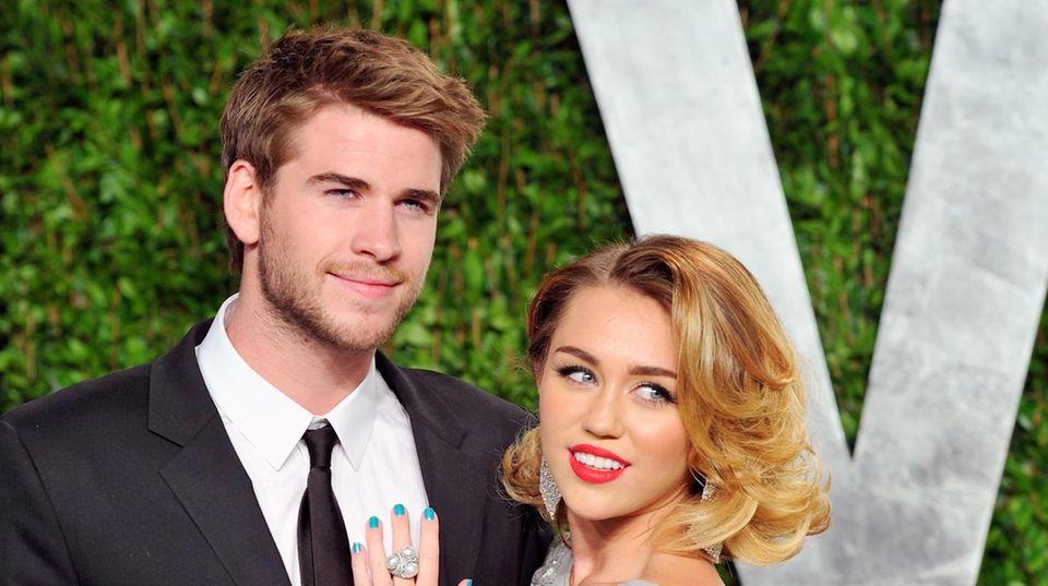 Ehemann von Miley Cyrus: Liam Hemsworth erfuhr von der Trennung aus den sozialen Medien