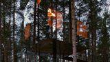 Mirrorcube Tree Hotel in Schweden