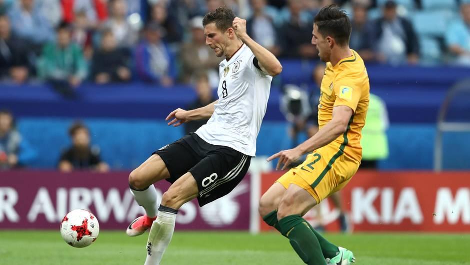 Confed Cup: Leon Goretzka trifft zum dritten Tor für Deutschland gegen Australien