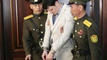 Otto Warmbier beim Prozess im März 2016: Eines der letzten Bilder, das die Welt vom 22-Jährigen sehen sollte