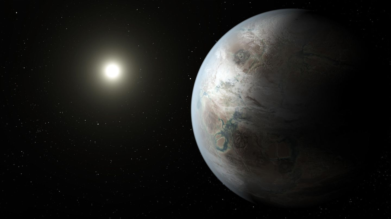 Aufnahme vom Exoplanet Kepler-452b