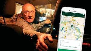 """Taxi-App: """"Clever-Shuttle"""" bietet Fahrgemeinschaften per Taxi"""