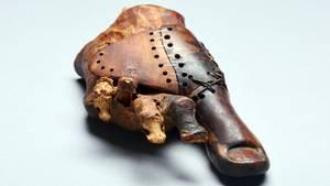 Eine etwa 3000 Jahre alte ägyptische Prothese begeistert Forscher