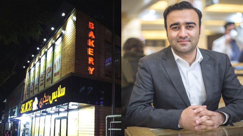 Slice Bakery in Kabul