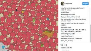 Eine Zeichnung des Instagrammers thedudolf.