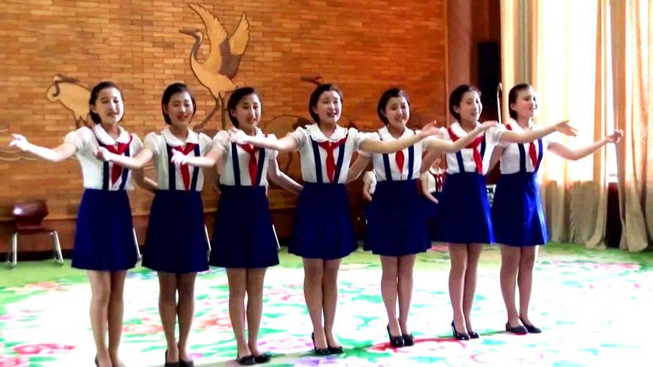 So drillt Nordkorea seine Bürger