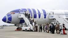 Boeing 787 von All Nippon Airways