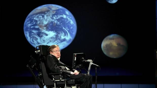 """""""Ich bin davon überzeugt, dass die Menschheit die Erde verlassen muss"""": Star-Physiker Stephen Hawking (Archiv-Bild)"""