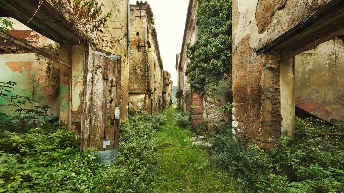 Lost Places: Einst lebten hier Menschen - jetzt sind die Orte vergessene Schönheiten