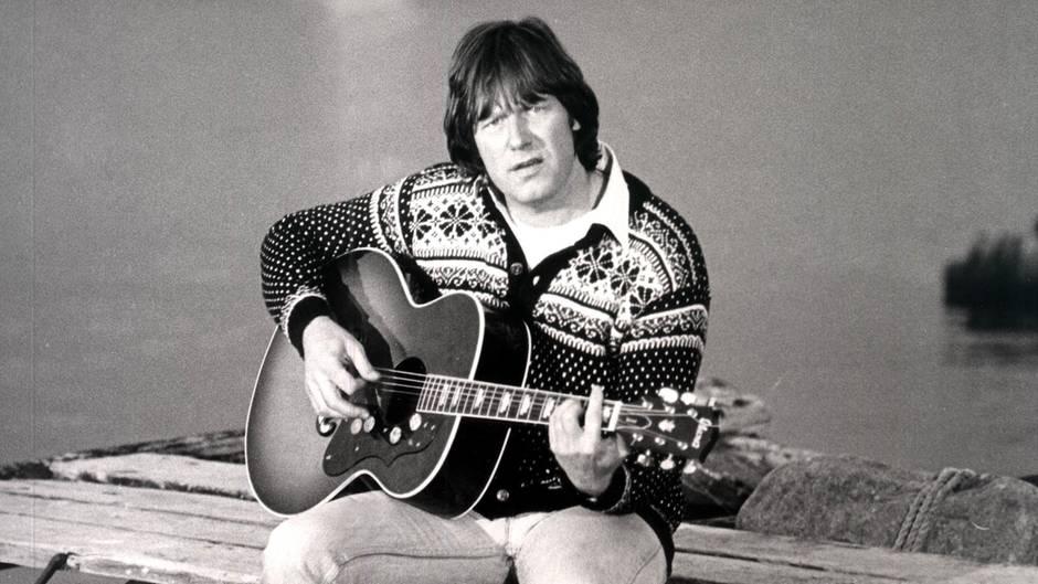 Gunter Gabriel - Porträt bei einem Fernsehauftritt Ende 70er Jahre