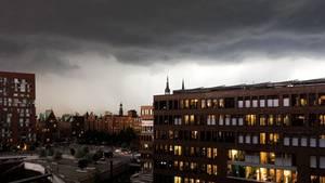 Unwetter - Deutschland - Norden - Hamburg - Tornado