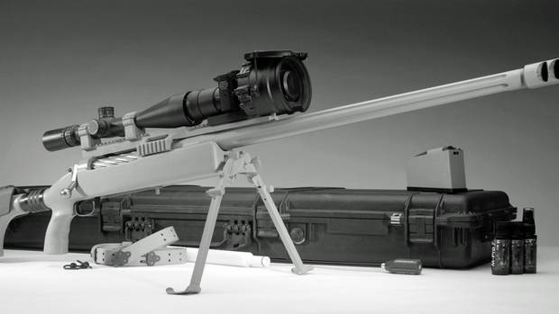 Aktuelle Version der McMillan TAC-50.