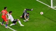 Lars Stindl erzielt 1:1 gegen Chile beim Confed Cup