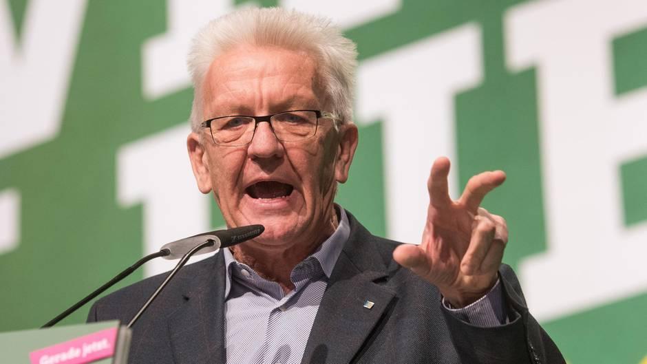 Kretschmann lästert über Parteitagsbeschluss der Grünen