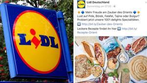 Lidl verkauft orientalische Produkte zum Ramadan - mit Schweinefett