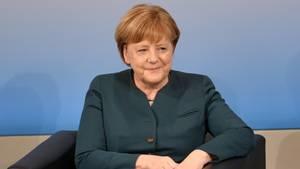 """Am 26. Juni 2017 ist Bundeskanzlerin Angela Merkel (CDU) bei """"Brigitte Live"""" zu Gast"""