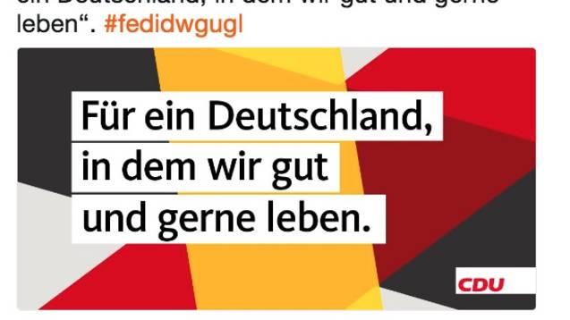 #fedidwgugl: So lästert das Netz über die CDU-Kampagne