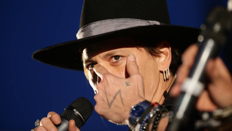 Johnny Depp Witz Donald Trump