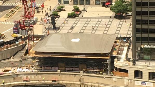 Der neuste Apple Store in Chicago