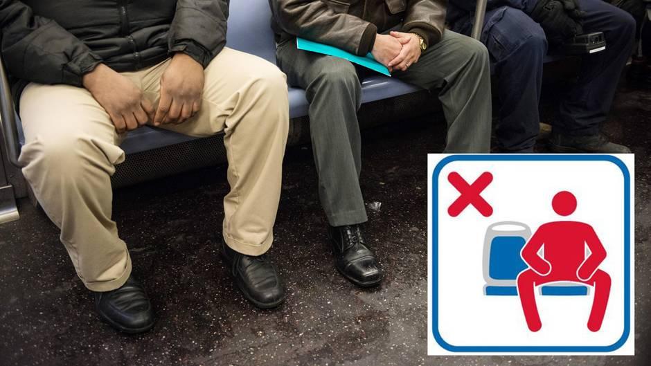 Sozialexperiment: Manspreading: Wie breitbeinig fährt Hamburg U-Bahn?