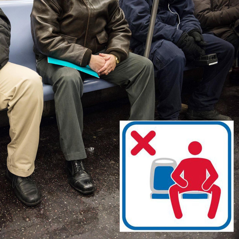 Warum sitzen männer breitbeinig
