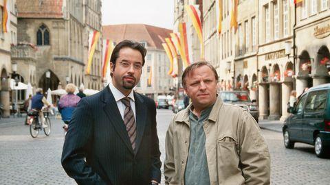 """Ein geniales """"Tatort""""-Team: Rechtsmediziner Boerne (links) und Kommissar Thiel"""