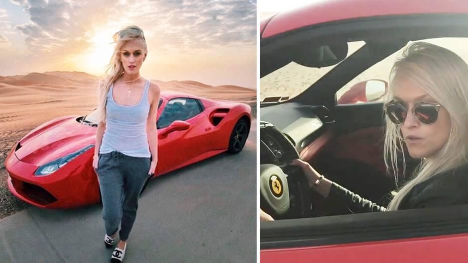Supercar Blondie: Ihr Job sind die dicken Schlitten von Dubai