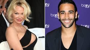 Pamela Anderson und Adil Rami