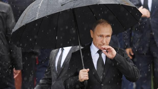 Wladimir Putin bei einer Veranstaltung zum Gedenken an den Beginn des Zweiten Weltkrieges