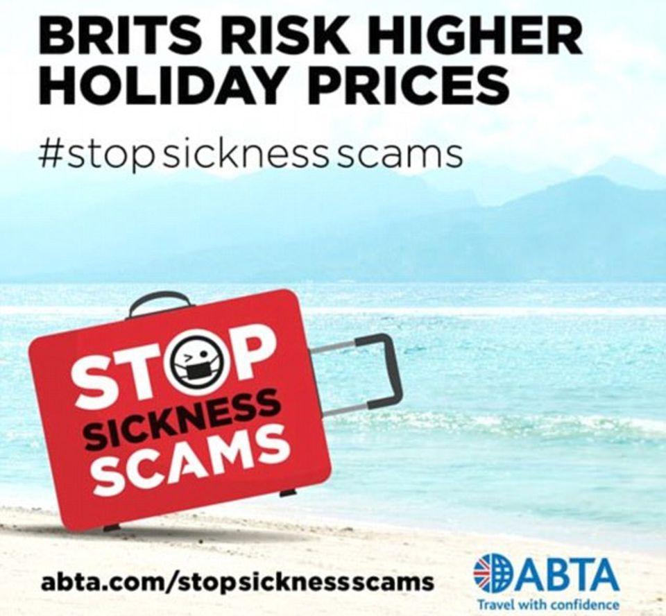 """Kampagne der """"Association of Britisch Travel Agents"""""""