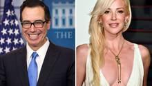 US-Finanzminister Steven Mnuchin und Schauspielerin Louise Linton