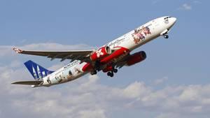 Air Asia: Flugzeug muss umdrehenAir Asia: Flugzeug muss umdrehen