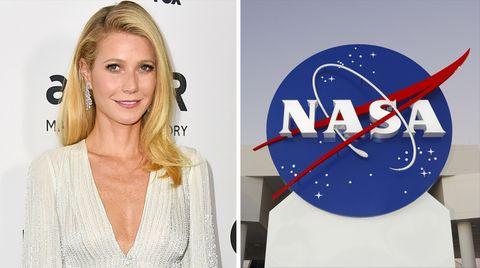 """Auf ihrem Blog """"Goop"""" warb Gwyneth Paltrow mit vermeintlich heilsamem Nasa-Material - sehr zum Ärger der US-Raumfahrtbehörde"""