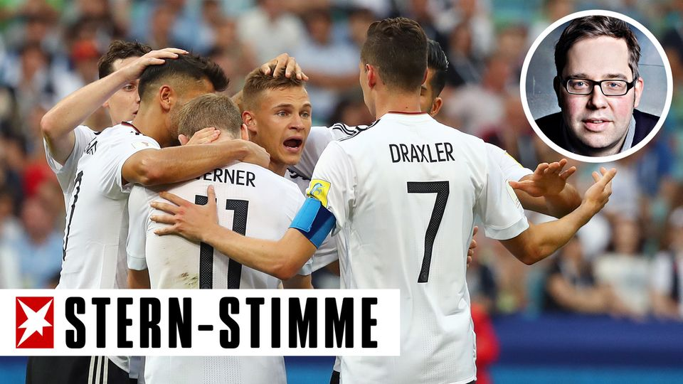 Die deutsche Nationalmannschaft beim Confed Cup in Russland