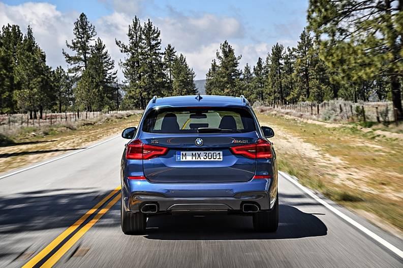 BMW X3 2018 - dürfte bei rund 44.000 Euro starten