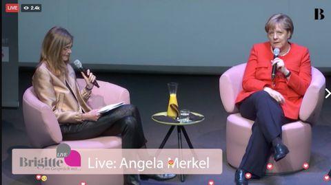 """""""Brigitte Live"""" aus Berlin: Angela Merkel jetzt im Live-Talk!"""