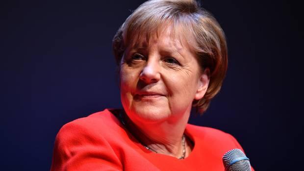 """Angela Merkel war bei """"Brigitte Live"""" zu Gast"""