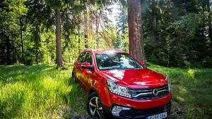 SsangYong Korando 2.2 Diesel - leicht überarbeitet