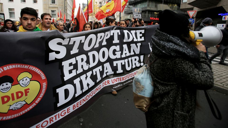 """Die Regierung der Türkei hat nach Angaben der """"Welt"""" Listen von Oppositionellen an die Bundesregierung geschickt (Archivbild)"""