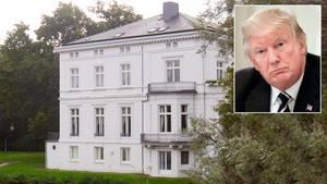 Das Gästehaus des Senats an der Außenalster wird bereits vor dem G20-Gipfel aufwändig gesichert