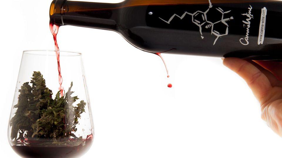 Cannabis Wein