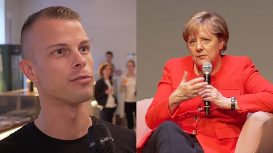 """""""Brigitte Live""""-Talk: Dieser Mann provozierte Merkels """"Ehe für alle""""-Aussage"""