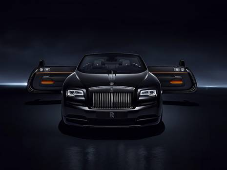 Rolls Royce Dawn Black Badge - feiert Premiere in Goodwood