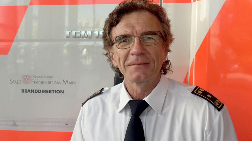 Reinhard Ries, Leiter der Feuerwehr Frankfurt am Main