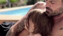 Arie Boomsma mit Tochter
