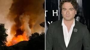 Schauspieler Johnny Galecki verlor sein Haus durch ein Buschfeuer in Kalifornien