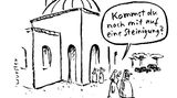 Cartoon-Buch: Achtung: Fiese Bilder