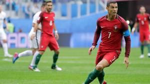 confed cup 2017 - portugal-chile - cristiano ronaldo