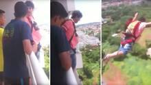 Brasilien: Mann kauft Fallschirm – und testet ihn vom Balkon