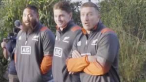 All Blacks: Neuseelands Rugby-Spieler werden fies reingelegt